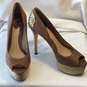 "Brian Atwood ""Layne"" 5"" platform heel pump"